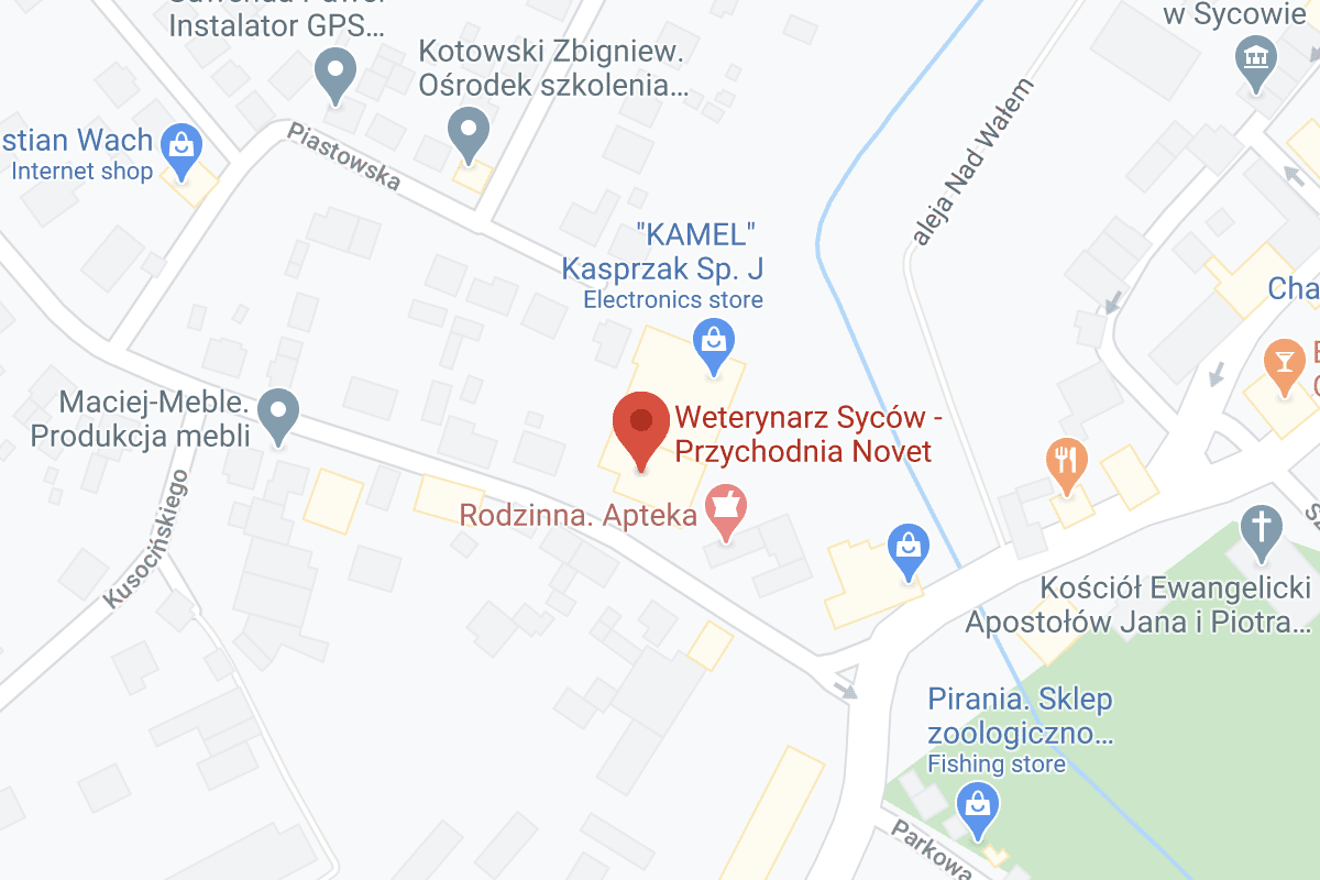 Novet Sycow Mapa