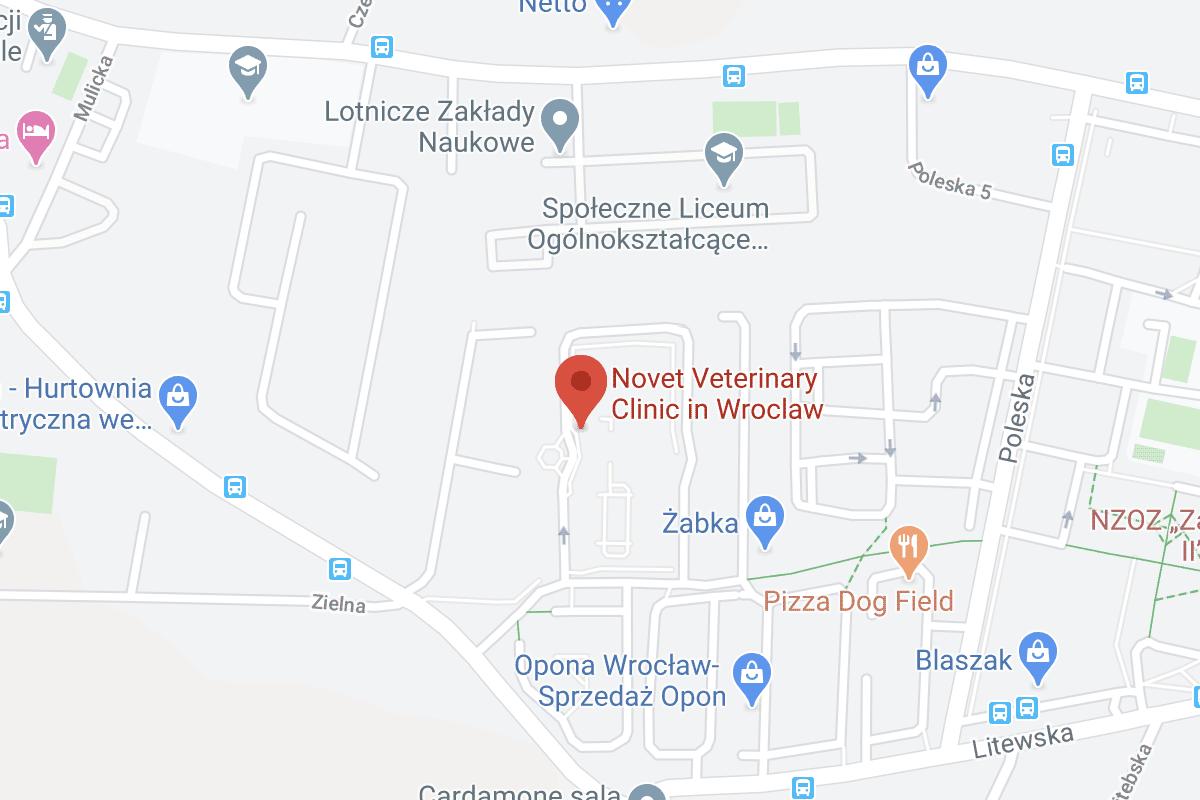 Novet Wroclaw Mapa